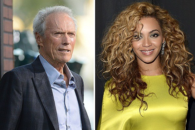 Clint Eastwood, Beyonce Knowles