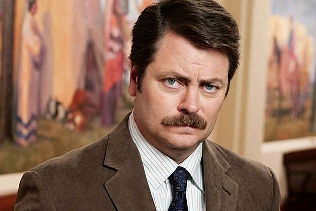 Nick Offerman Ron Swanson