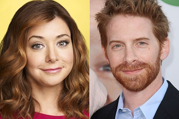 How I Met Your Mother Season 8 Seth Green Alyson Hannigan