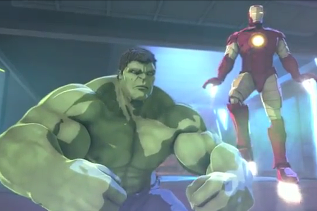 Iron Man and Hulk animated movie
