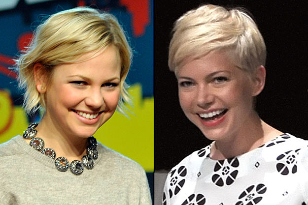 Adelaide Clemens + Michelle Williams