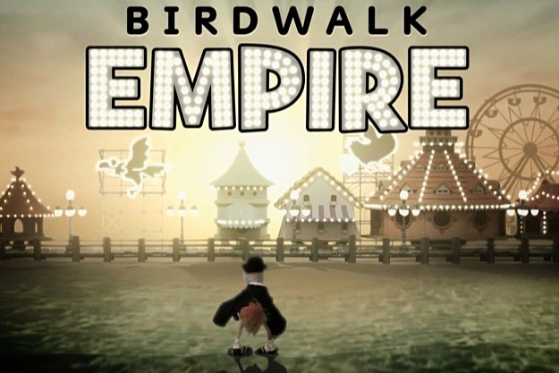 Sesame Street Boardwalk Empire