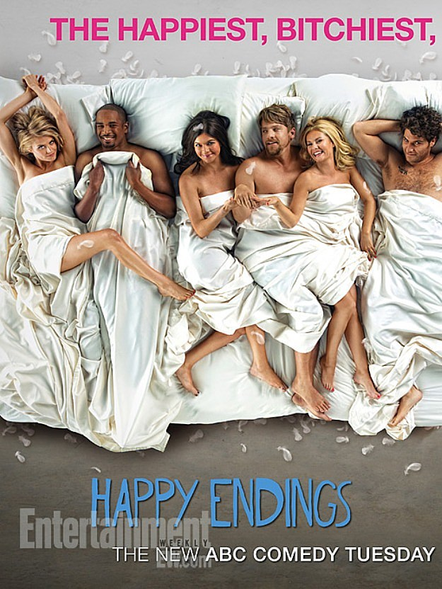 Happy Endings Season 3 Poster