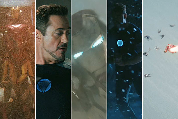 Iron Man 3 trailer screencaps