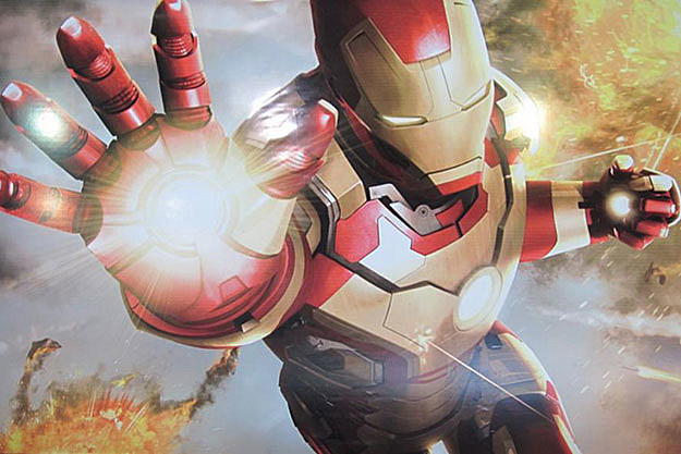 'Iron Man 3' poster art