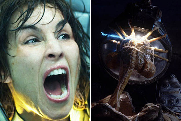'Prometheus' + Facehuggers