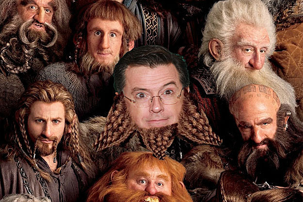 'The Hobbit' Stephen Colbert cameo
