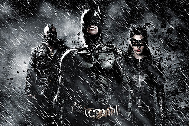 'The Dark Knight Rises' blu-ray trailer