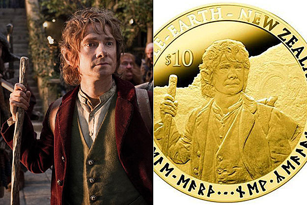 'The Hobbit' coins