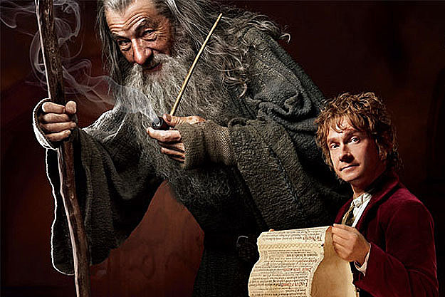 'The Hobbit: An Unexpected Journey' scrolling banner