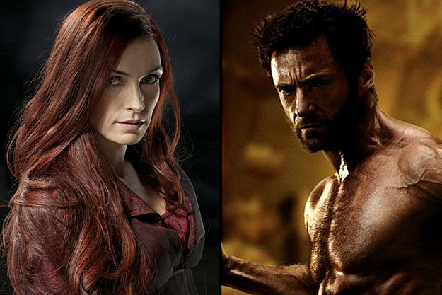 Famke Janssen + The Wolverine