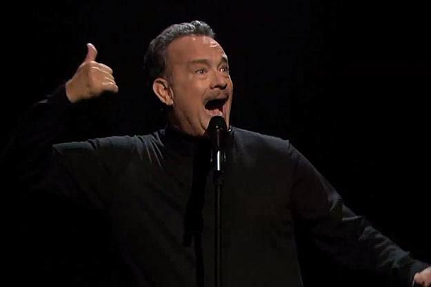 Tom Hanks slam poetry