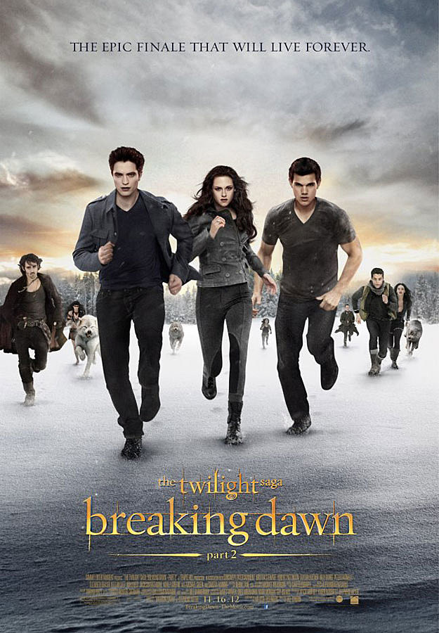 'Twilight: Breaking Dawn - Part 2' poster