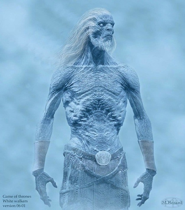 Game of Thrones White Walker Concept Art
