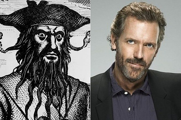 NBC Crossbones Hugh Laurie Blackbeard