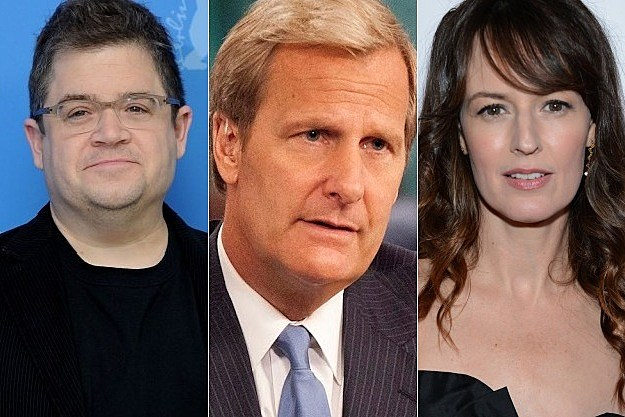 The Newsroom Season 2 Patton Oswalt Rosemarie DeWitt