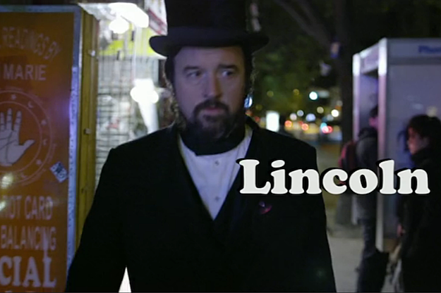 Louis CK is Lincoln