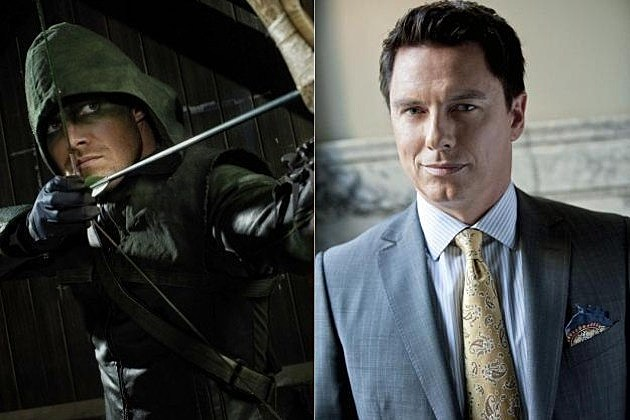 Arrow John Barrowman Dark Archer Merlyn