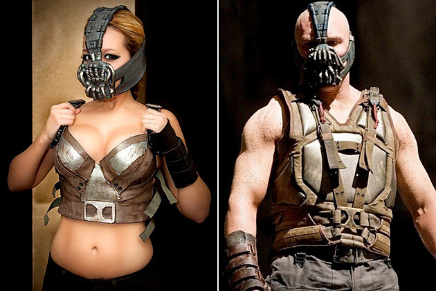 Female Bane cosplay