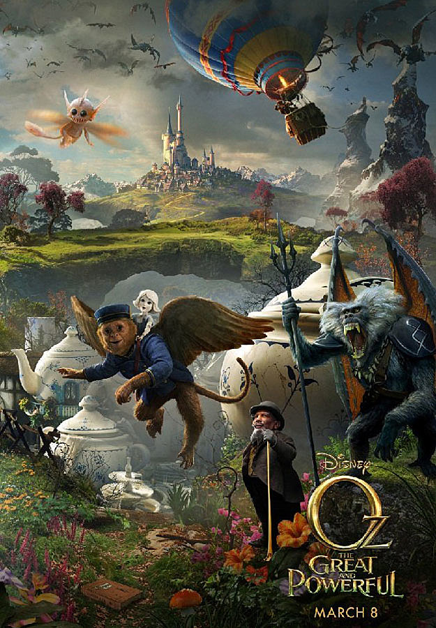 'Oz the Great and Powerful' poster