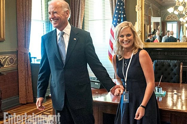 Parks and Recreation Season 5 Joe Biden