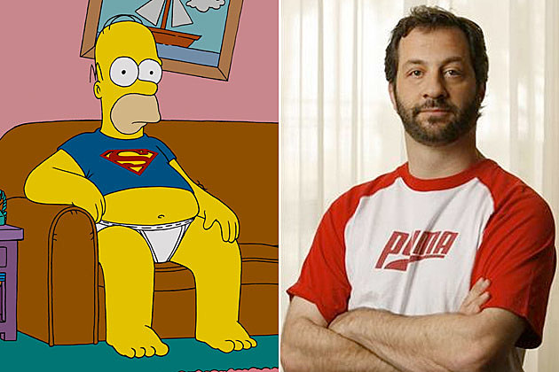The Simpsons Judd Apatow