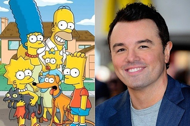 The Simpsons Family Guy Seth MacFarlane Voice