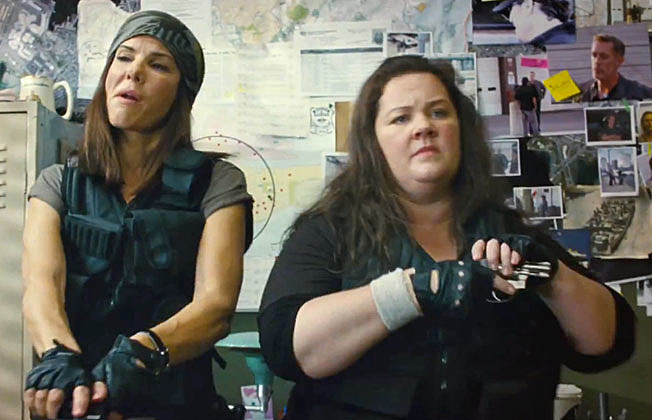 The Heat' Trailer Teams Up Sandra Bullock and Melissa McCarthy
