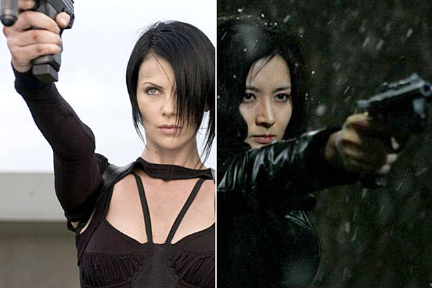 Charlize Theron Sympathy for Lady Vengeance