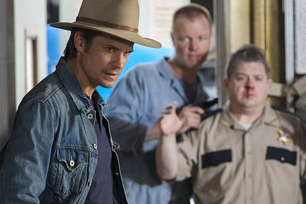 Justified Season 4 Premiere Hole in the Wall Photos