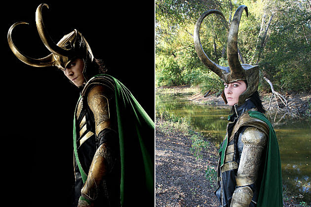 'The Avengers' Loki cosplay