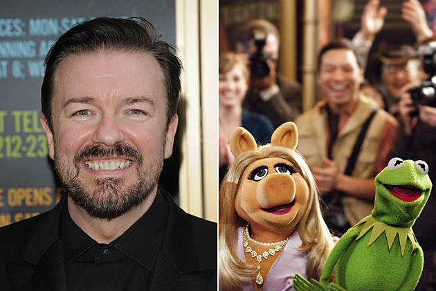 Ricky Gervais The Muppets 2