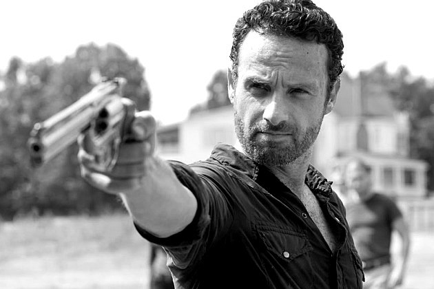 AMC The Walking Dead Black and White