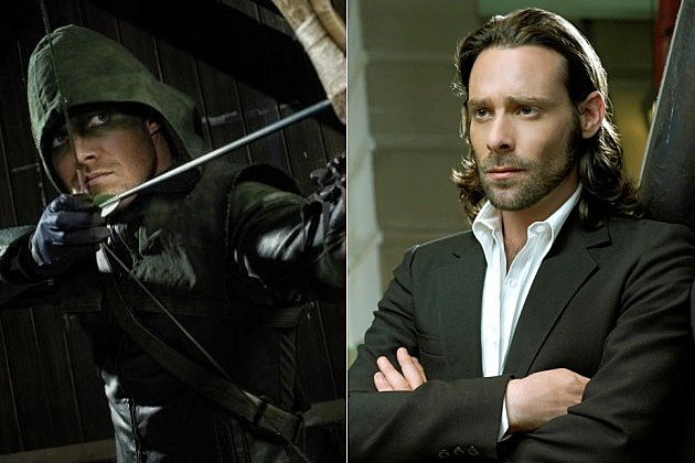 Arrow James Callis Dodger Battlestar Galactica
