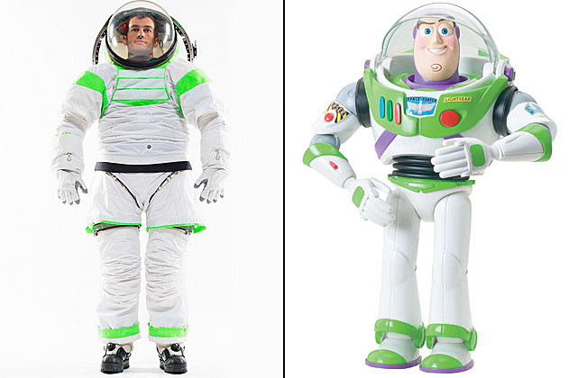 Buzz Lightyear NASA