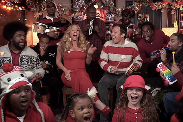Jimmy Fallon Mariah Carey Christmas
