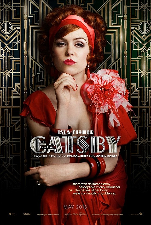 The Great Gatsby Poster Isla Fisher
