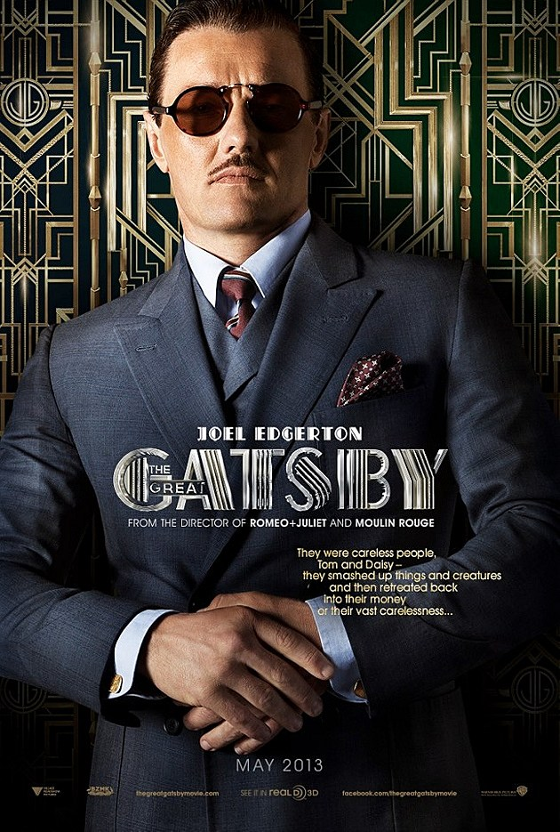 The Great Gatsby Poster Joel Edgerton