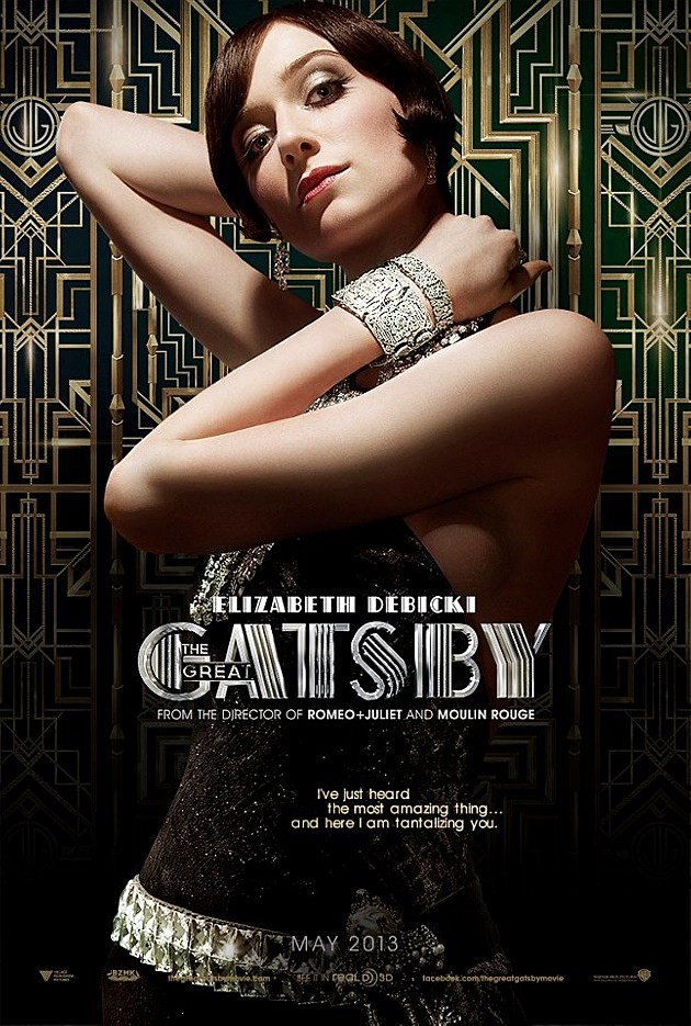 The Great Gatsby Poster Elizabeth Debicki
