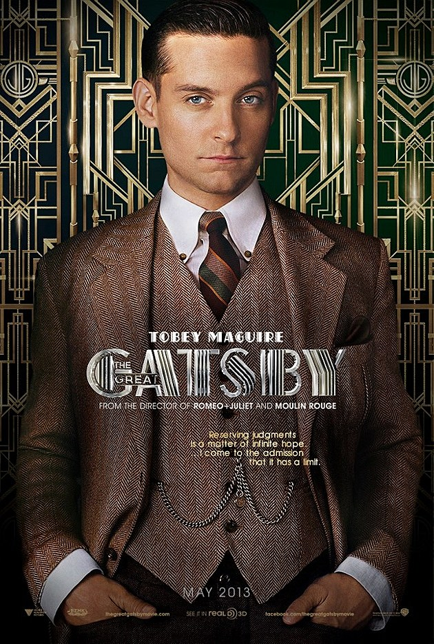 The Great Gatsby Poster Tobey Maguire