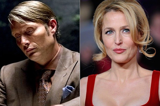 NBC Hannibal Gillian Anderson X Files