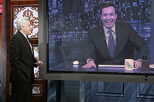 Jay Leno Tonight Show Jimmy Fallon 2014