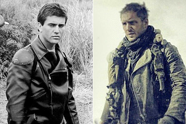 Mel Gibson Tom Hardy Mad Max