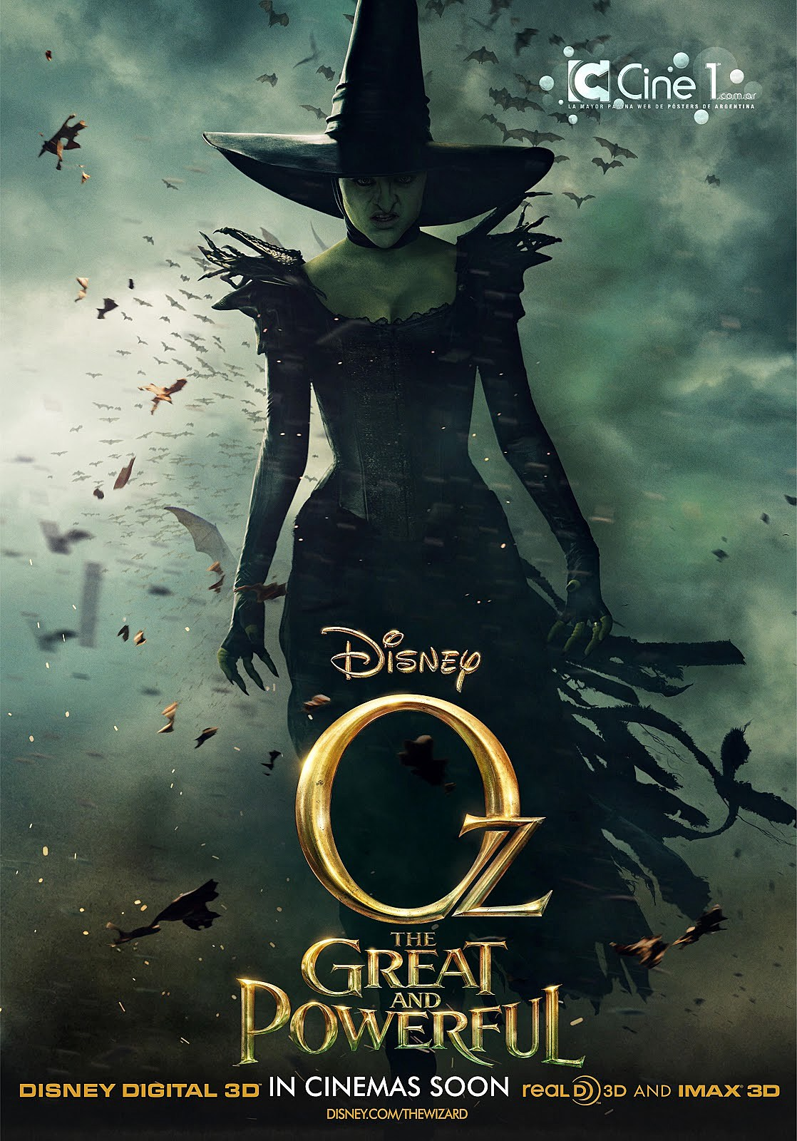 Oz the Great and Powerful Poster Wicked Witch