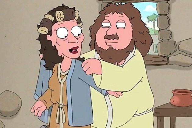 Family Guy Ryan Reynolds Jesus Mary Joseph