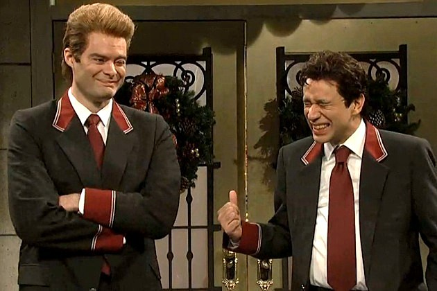 SNL Deleted Scene Bill Hader Fred Armisen Russian Doormen