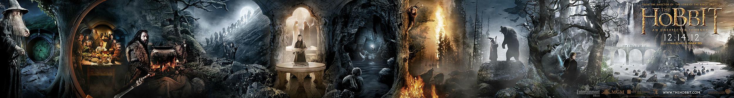 The Hobbit poster banner