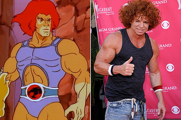 Thundercats Lion-O Carrot Top