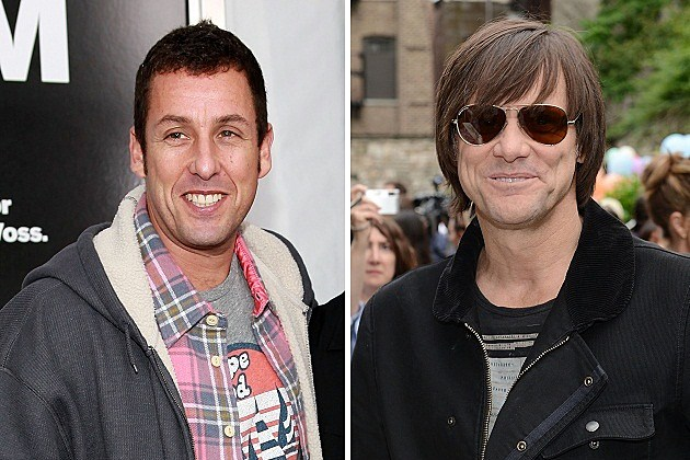 Adam Sandler, Jim Carrey