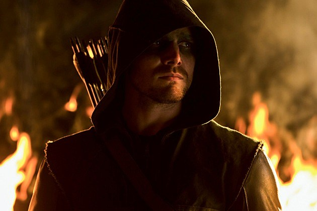 Arrow Burned Preview Firefly